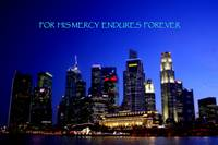 Mercy, City night Singapore
