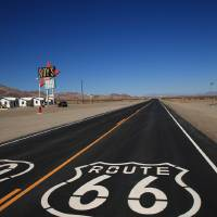 Route 66 Shield Art Prints & Posters by Frank Romeo