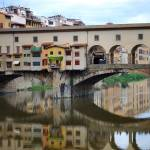 """Ponte Vecchio Reflects by Terence Davis"" by terencedavis"