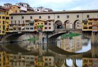Ponte Vecchio Reflects by Terence Davis