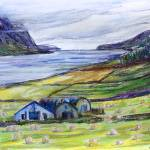 """Summer At Fjord Eyjafjoerdur, Iceland"" by BarbaraPommerenke"
