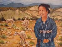 Navajo Girl Two Grey Hills