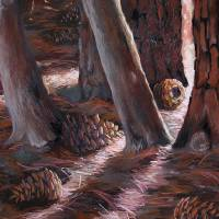 Pineforest Art Prints & Posters by Monika Stattner