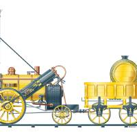 Stephenson's Rocket Art Prints & Posters by Raymond Ore