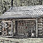 """Clark Cabin"" by bettynorthcutt"