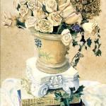 """Books n roses"" by kyaudeart"