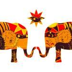 """Lion Hearted Elephants"" by DezineZone"