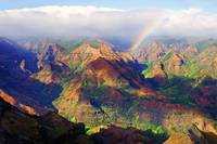 Waimea Canyon Rainbow