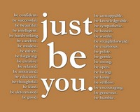 just be you (brown)