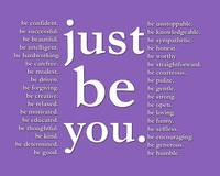 just be you (indigo)