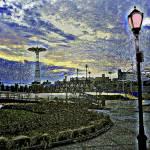 """CONEY ISLAND AMUSEMENT PARK"" by KENDALLEUTEMEY"
