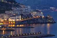 Amalfi Night Scenic