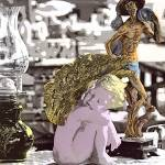 """Flea Market Angel"" by kphotos"