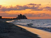Sunrise at the Beach in Perdido Key at the Mariner