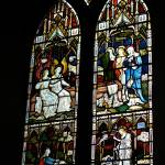 """Bakewell Church Stained Glass Window"" by stewak"