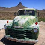 """""""Route 66 - Old Green Chevy"""" by Ffooter"""