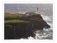 Neist Point Lighthouse, the Isle of Skye Scotland