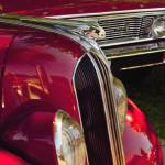 """1935 Chief Pontiac on Red car"" by janesprints"
