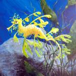 """Yellow Sea Dragon"" by marypalmer"