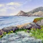 """Half Moon Bay"" by marypalmer"