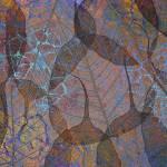 """Dark translucent leaves"" by CoraNiele"