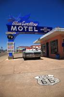 Route 66 - Blue Swallow Motel 2012