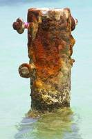 Rusted Dock Pier of the Caribbean VI