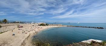 The Beach at Antibes