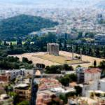 """Athens - Greece Miniature"" by jchau"