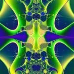 """""""Blue Atom 01"""" by meganrenehoover"""