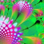 """""""Pink flower fractal"""" by meganrenehoover"""