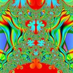 """La grange colorful fractal"" by meganrenehoover"