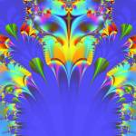 """""""Rainbow Feathers Fractal"""" by meganrenehoover"""