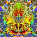 """""""Flor de lis fractal"""" by meganrenehoover"""