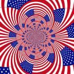 """""""Flag art fractal"""" by meganrenehoover"""
