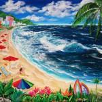 """Tropical Beach"" by galina"