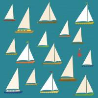 Sailing regatta Art Prints & Posters by Eli Griffith