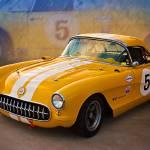 """""""1956 Corvette Front View"""" by StuartRow"""