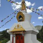 """Kagyu Mila Guru Stupa"" by Wilford"