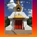 """Kagyu Milo Guru Stupa, El Rito"" by Wilford"