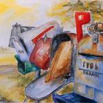 """""""Mailboxes In Texas"""" by BarbaraPommerenke"""