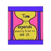 Time Shrinks or Expands According to How We Use It