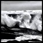 """""""Rough Seas Abstract"""" by waynelogan"""