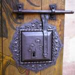 """Nuremberg Castle Door Lock"" by johnbowers"
