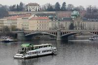 Cruise on the River in Prague