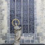 """""""Statute of a Saint in Prague"""" by belinda_baardsen"""
