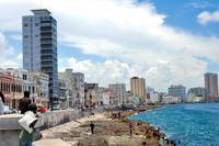 Sunny, Windy Sunday at the Malecon