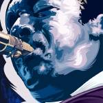 """Jazz Series John Coltrane"" by garthglazier"