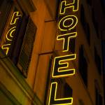 """Hotel Sign, Roma, Italy"" by MyMacGuy"