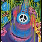 """Peace Guitar"" by ArtPrints"
